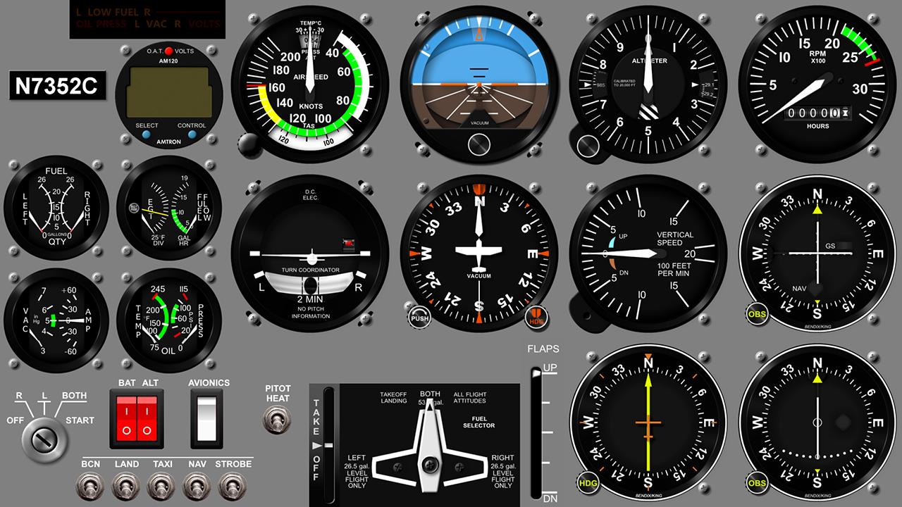 Kenwood Instrument Panel Labeled : Pilote virtuel forum de simulation aérienne p d